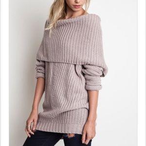Sweaters - 🚨BUY 2 GET 1 FREE!🚨✨LAST ✨Mauve Chunky Sweater
